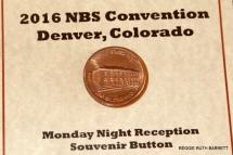 Denver Mint Coin Button