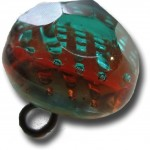 glass multicolor paperweight 700