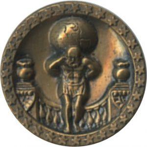 Atlas medium stamped brass BYSON [4609724]