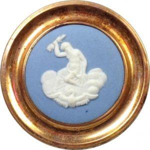 Zeus - 1795 Josiah Wedgewood in Pinchbeck brass [4609737]