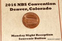 Denver Mint Coin Button