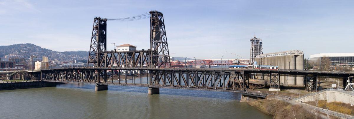 Steele Bridge, Portland Oregon